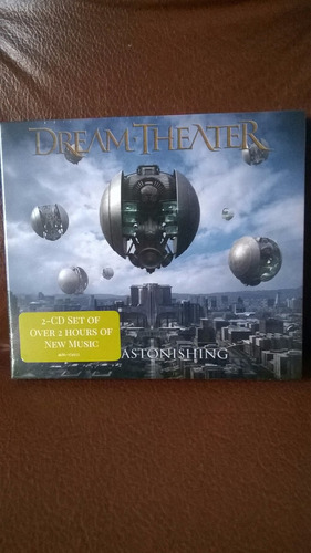 dream theater the astonishing (2cd)