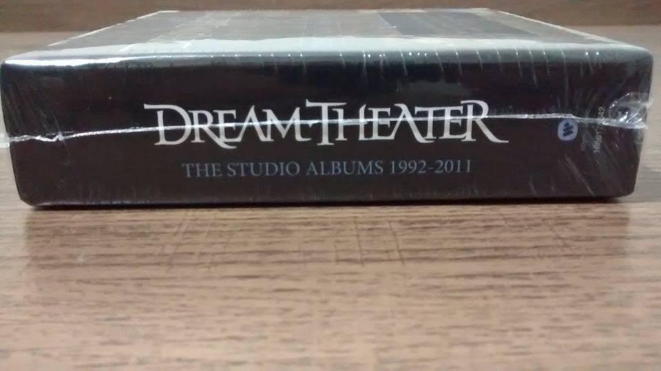 Dream Theater The Studio Albums 1992-2011 - Box Com 10 Cds