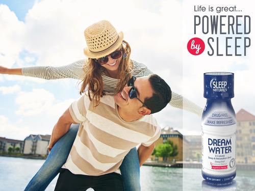 dream water natural sleep aid, gaba, melatonin, 5-htp, 2.5oz