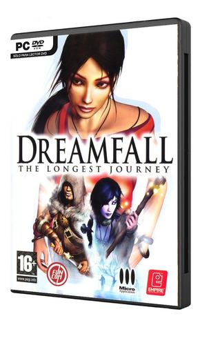 dreamfall juego pc original fisico dvd box