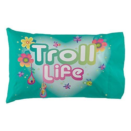 dreamworks ma7388 trolls life sheet set trolls life twin