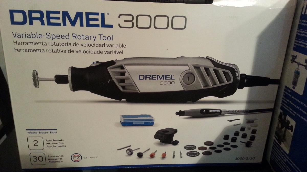 Dremel 3000 30 accesorios guaya eje flexible nuevo for Dremel 3000 accesorios