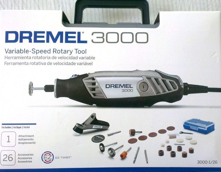 Dremel 3000 ez twist 26 accesorios maletin bs for Dremel 3000 accesorios
