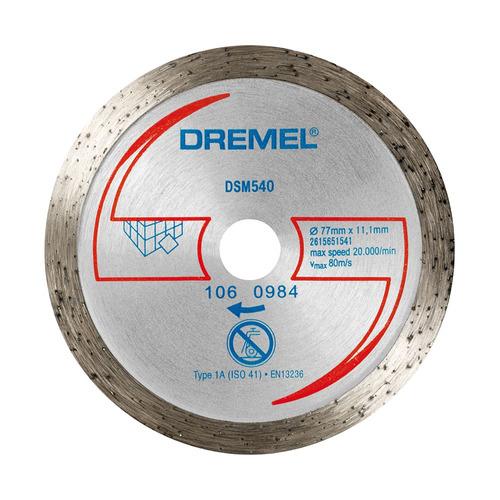 dremel disco de corte sm540 diamantado p/materiales duros