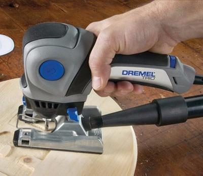 dremel trio 3 herramientas en 1 cortar lijar fresar