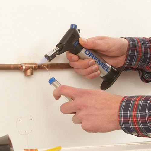 dremel versaflame soldador soplete c/puntas intercambiables