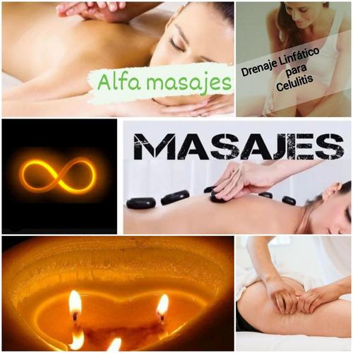 drenaje linfatico manual (masajes alfa canning )