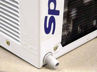 dreno saída de água bico ar condicionado janela springer duo