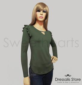 8998596ff Dressalis Store- Blusa Mijal Mujer Moda Casual Manga Larga