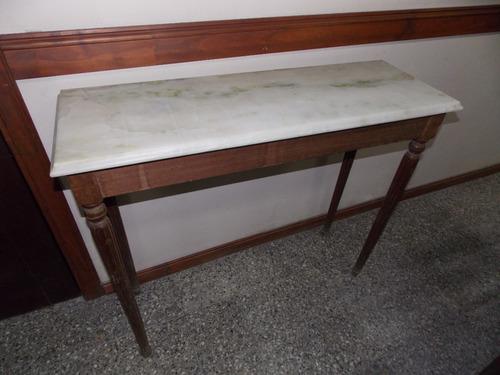 dressoire consola francesa con mármol