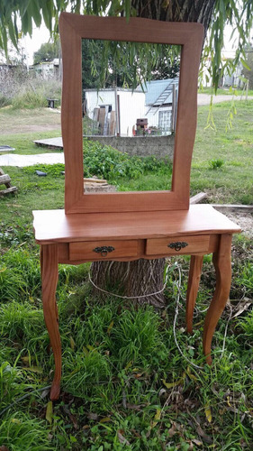 dressoire luis xv, recibidor c/espejo madera!mesa de arrime