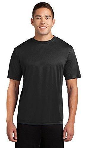dri-tek mens big - camiseta deportiva de manga corta con efe