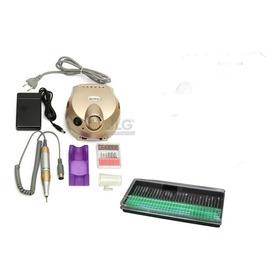 Drill Uñas Manicure Pedicure 30.000rmp + 30 Fresas + Envio