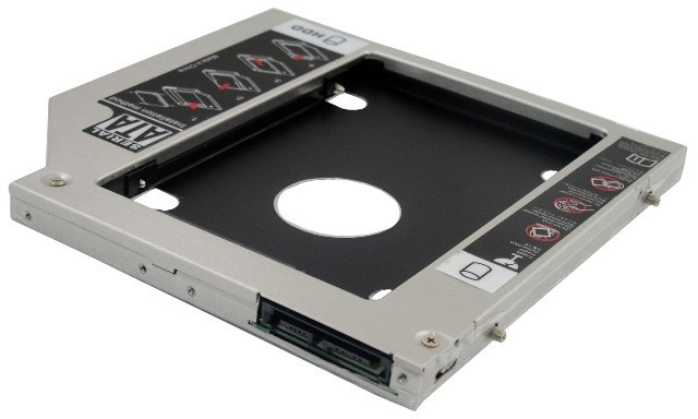 Drive Caddy Para Hd Ssd 9 5mm Notebook Dell Adaptador De Dvd