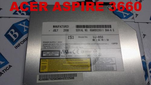 drive cd dvd acer 3660 séries uj-850
