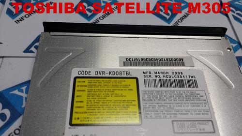 drive cd dvd ide toshiba satellite m305 séries dvr-kd08tbl