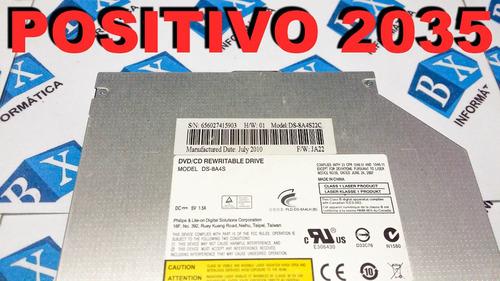drive cd dvd positivo 2035 ds-8a4s ds-8a3s