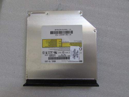 drive dvd ts l633 notebook hp compaq cq61 - usado