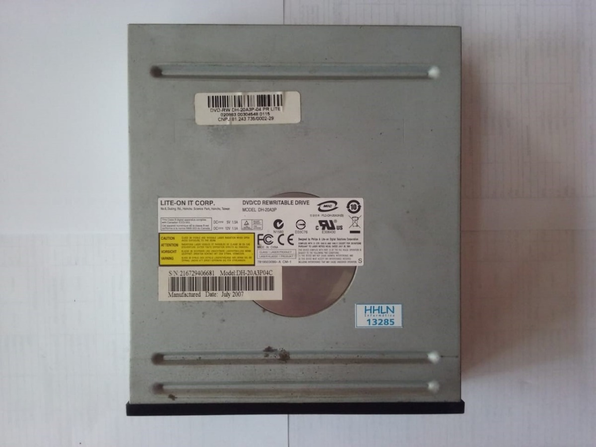 LITE-ON DH-20A3P DRIVERS FOR WINDOWS XP