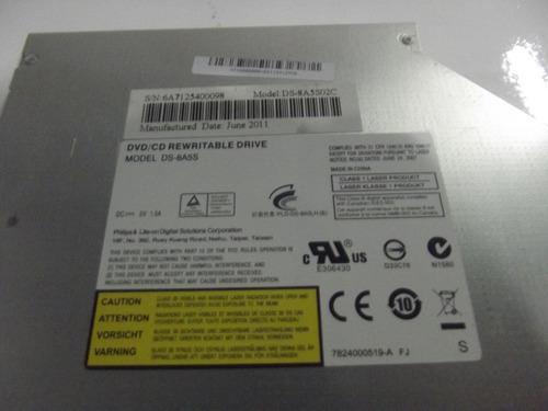 drive gravador de dvd sata ds-8a5s notebook philco 14d