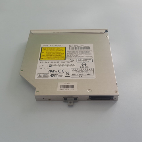 drive leitor bdc-td03vc notebook sony vaio pcg 71913l