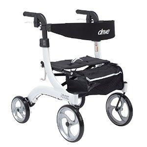 drive medical rtl10266wt-h nitro euro style walker andador h