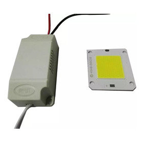Driver + Chip 50w Repuesto Para Reflector Led 50w