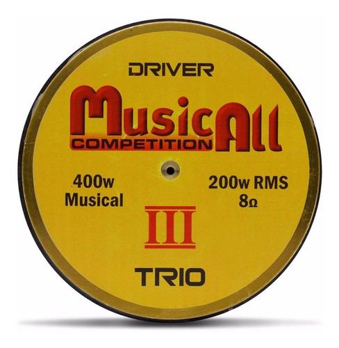driver 200w rms musicall similar d250 trio selenium 8 ohms