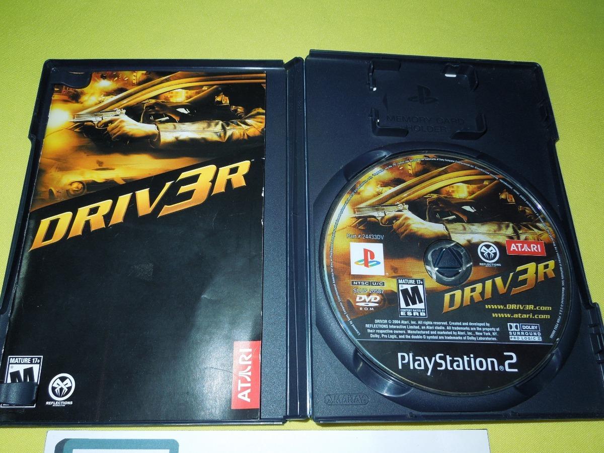 Driver 3 Ps2 Playstation 2
