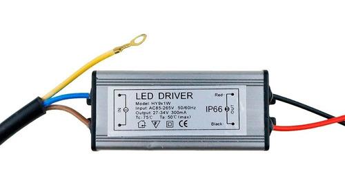 driver controlador led 10w a prueba de agua