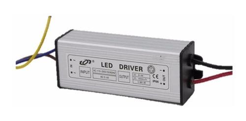 driver controlador led reflector 50w a prueba de agua