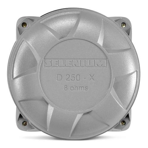 driver d250x jbl selenium 100w rms 8 ohms corneta