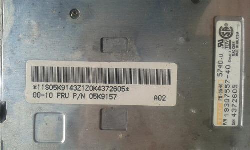driver disquete notebook (lenovo) ibm thinkpad type 2628