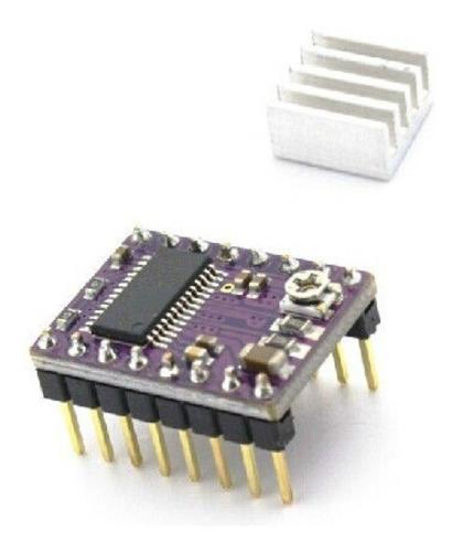 driver drv8825 c/ dissipador de calor impressora 3d reprap