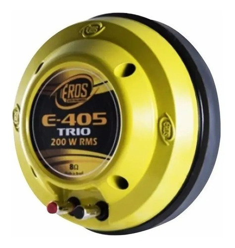 driver eros e-405trio  200w rms lançamento trio 8 ohms