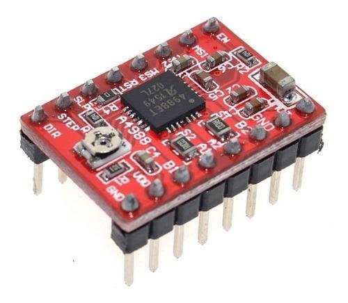driver pololu a4988 impresora 3d cnc arduino reprap
