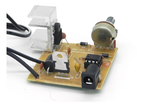 driver pwm circuito velocidade motor 12v 20a dimmer 10a 15a