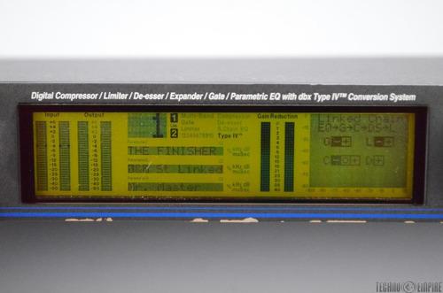 driver rack procesador digital ddp dbx edición especial