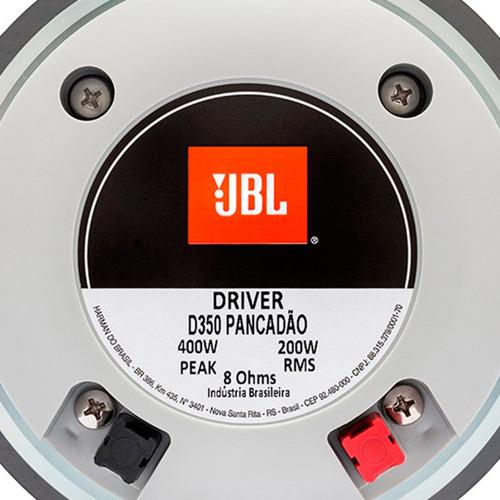 driver selenium d350 200w rms 8 ohms pancadão jbl 2 peças