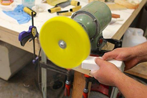 drixet rueda pulidora de algodon cosida en espiral tratada 3