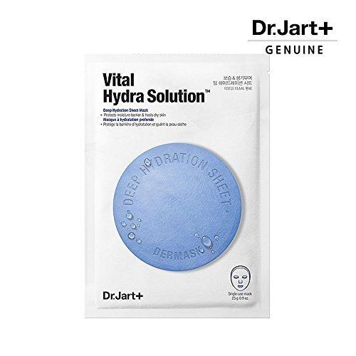 dr.jart + dermask mask sheet 3pcs (micro jet clearing, hidr