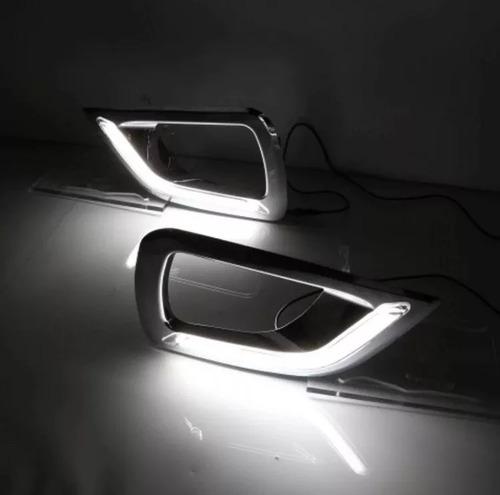 drl set 2 piezas luz de día y direccional nissan np300