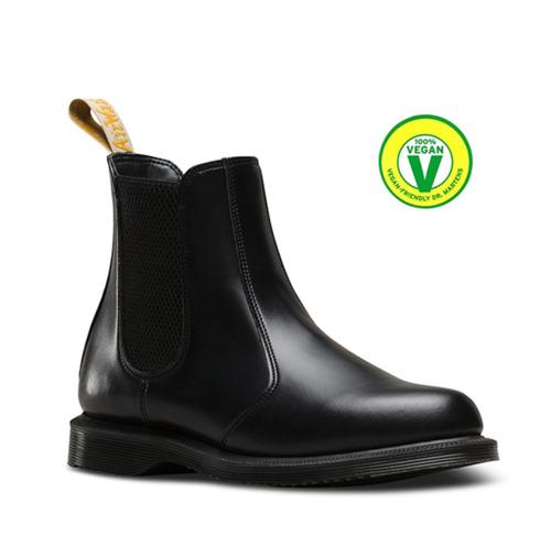 dr.martens - flora black vegan 36-37-38-39-40