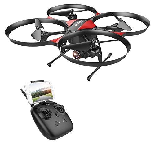 drocon u818plus wifi fpv aviones no tripulados con la cámara