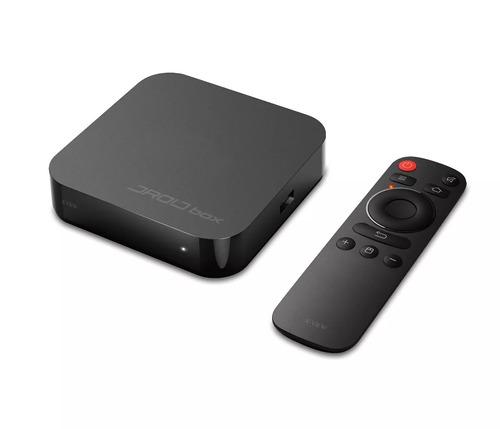 droid box plus x view para tv smart android netflix hdmi