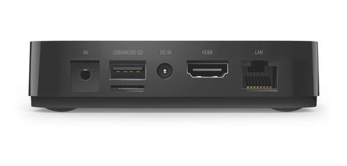 droid box s plus x view convertidor tv smart hd 4k hdmi streaming + control remoto + teclado wireless