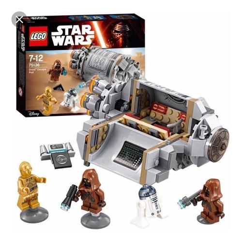 droid escape pod lego 75136