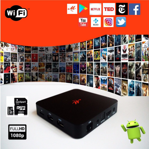 droid tv box android smart hdmi pelis my family cinema