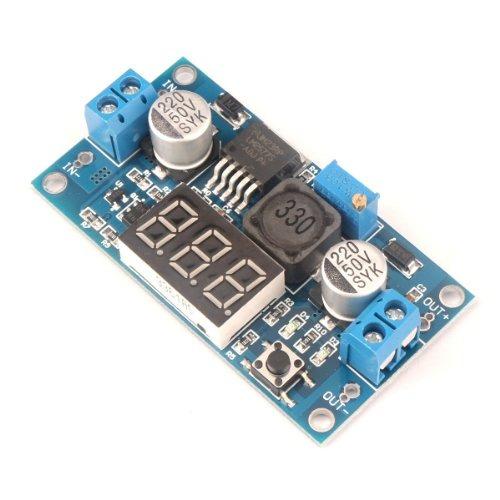 drok micro led dcdc convertidor de voltaje de refuerzo digit
