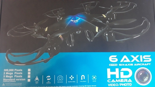 dron 6 axis rc-126 hd cámara/foto